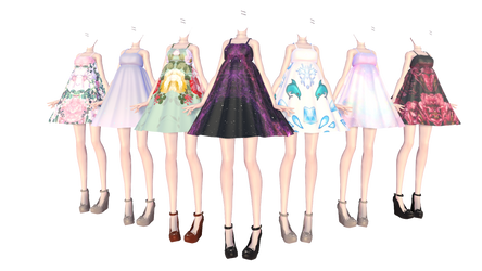 [MMD] Outfit Dress #2 (DL)