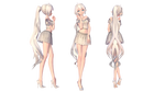 [MMD   OC] Kaori (DL Model)