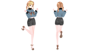[MMD | OC] Riko (Model DOWNLOAD) by Lauraimon