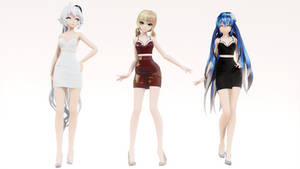 [MMD | MOE] Happy New Year! Models Pack (+DL) by Lauraimon