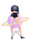 [MMD] Base Outfit Galaxy Lover (+DOWNLOAD)