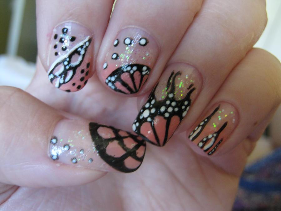 Funky Nail Art By Vixen270991 On Deviantart