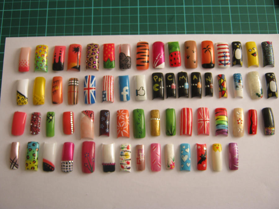 Most of my nail art designs by vixen270991 on deviantart most of my nail art designs by vixen270991 prinsesfo Choice Image