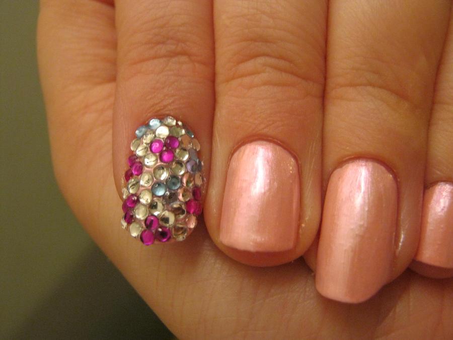 gem nail art by VIXEN270991 on DeviantArt