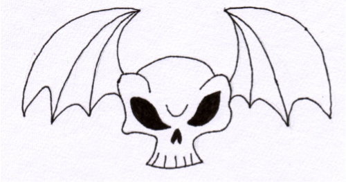 Skull Bat 3 by jess13795