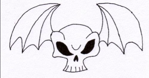 Skull Bat 3 by jess13795