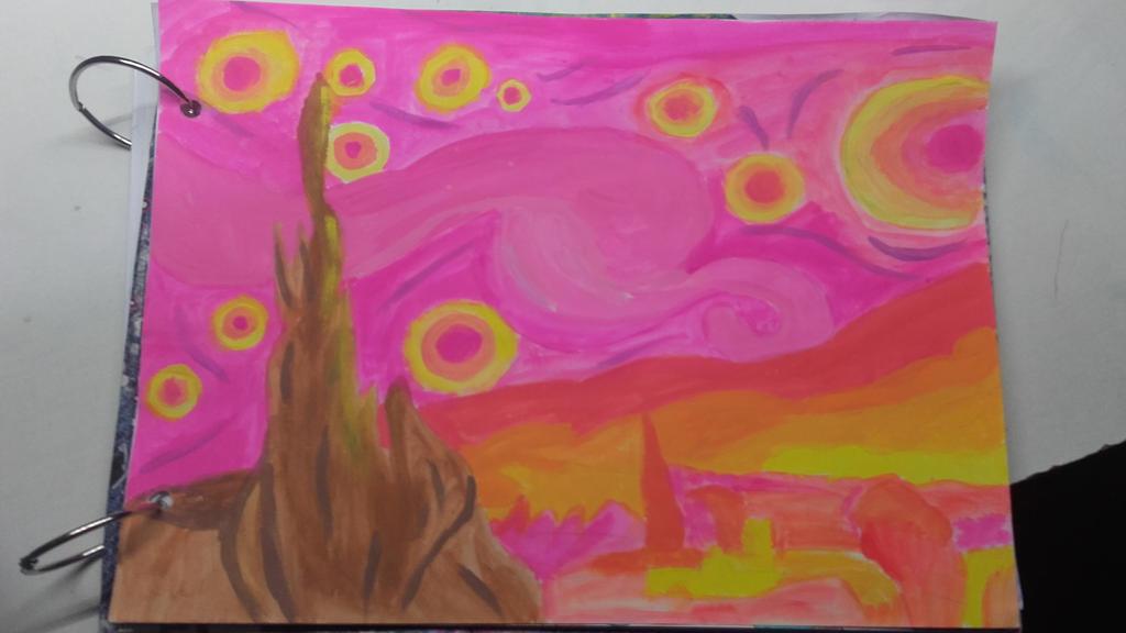 Trabajo de Van Gogh / Work of Van Gogh by Mikal04-12