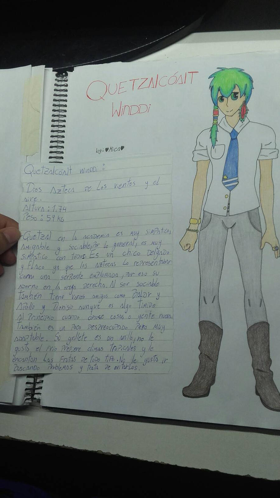 Quetzalcoalt Winddi by Mikal04-12