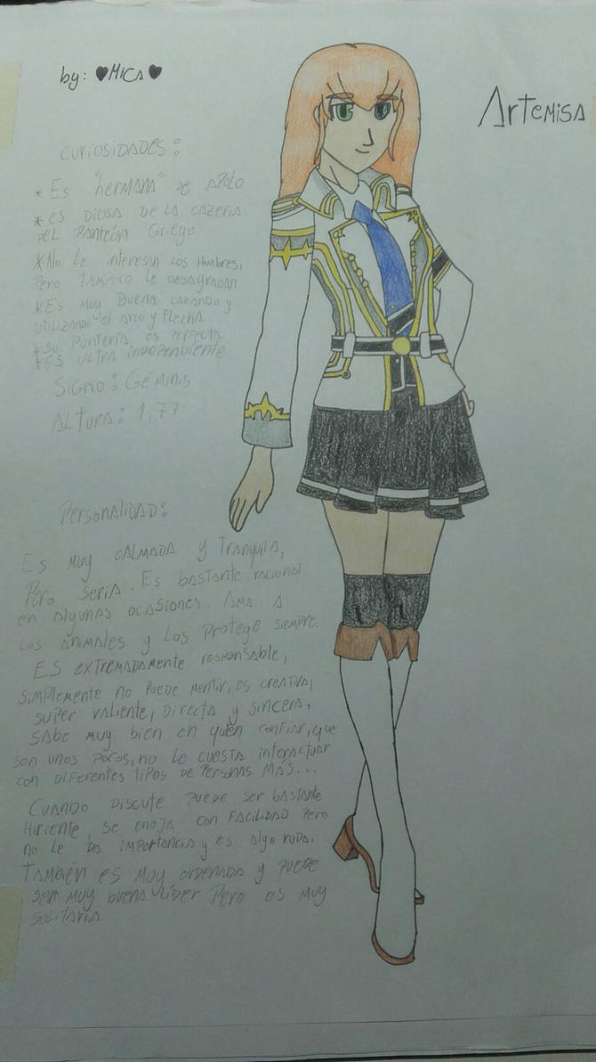 Artemisa by me :D by Mikal04-12