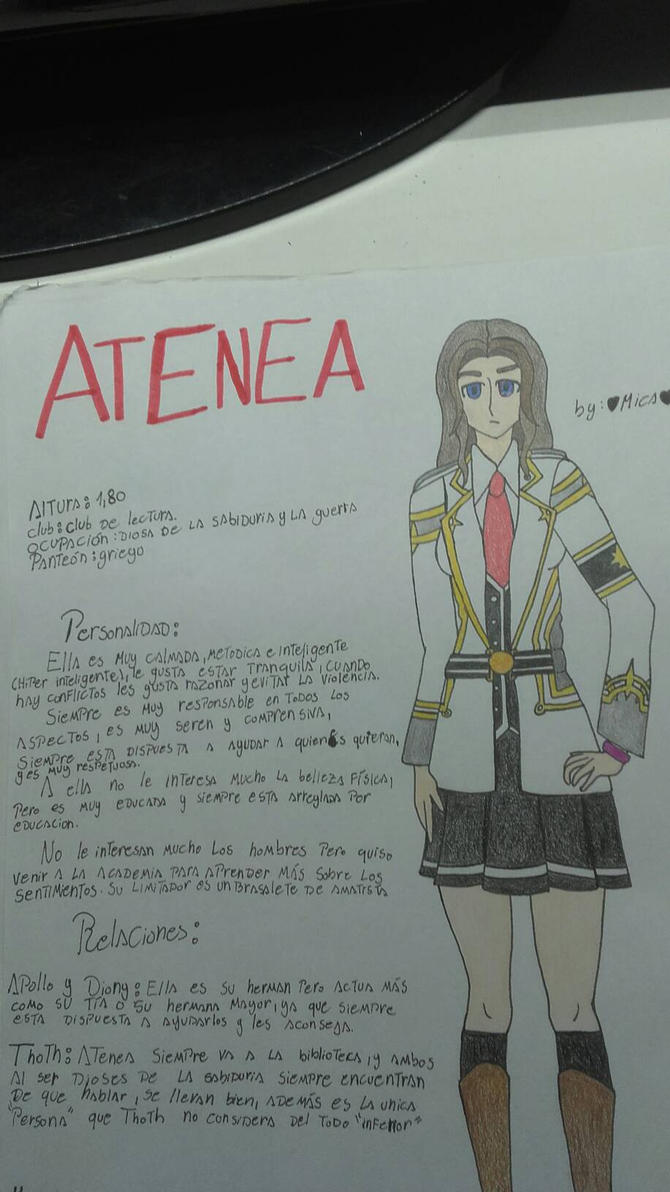Atenea OC for #kamigami no asobi by Mikal04-12