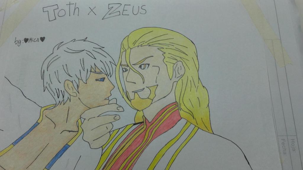Thoth Caduceus x Zeus Keraunios by me  by Mikal04-12