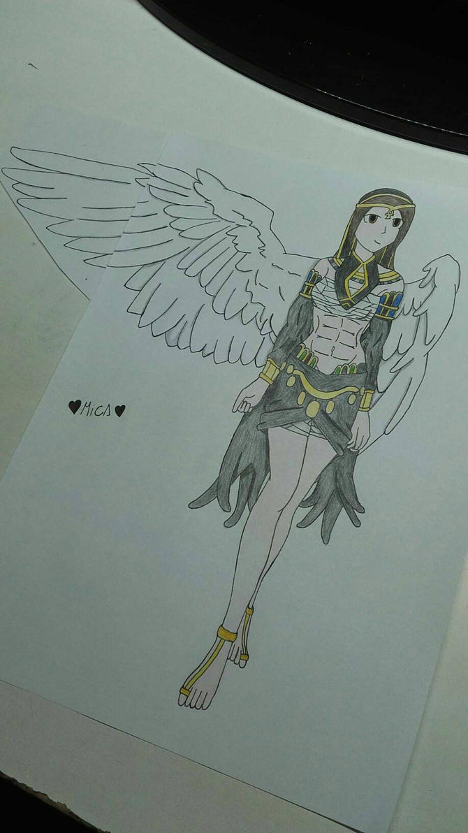 Egyptian god clothing design by Mikal04-12