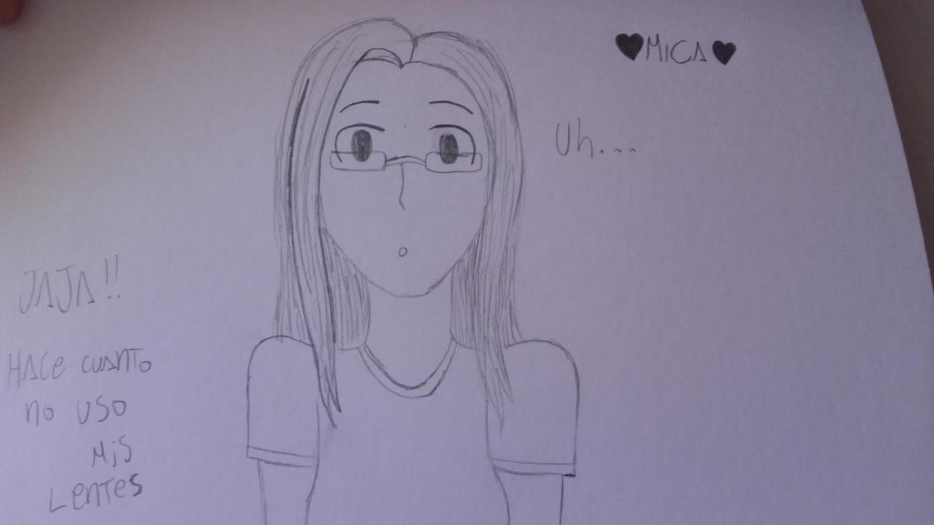 pequeo intento de retrato :3 by Mikal04-12