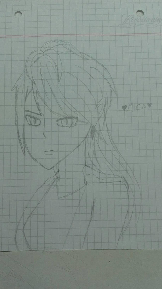 Practing a girl :3 by Mikal04-12