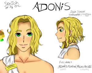 Adonis OC sketch