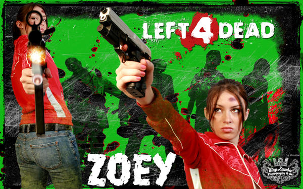 Zoey Left 4 Dead wallpaper by TamvakisPhoto
