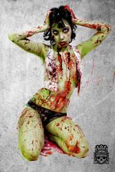 Zombie Pinup by TamvakisPhoto