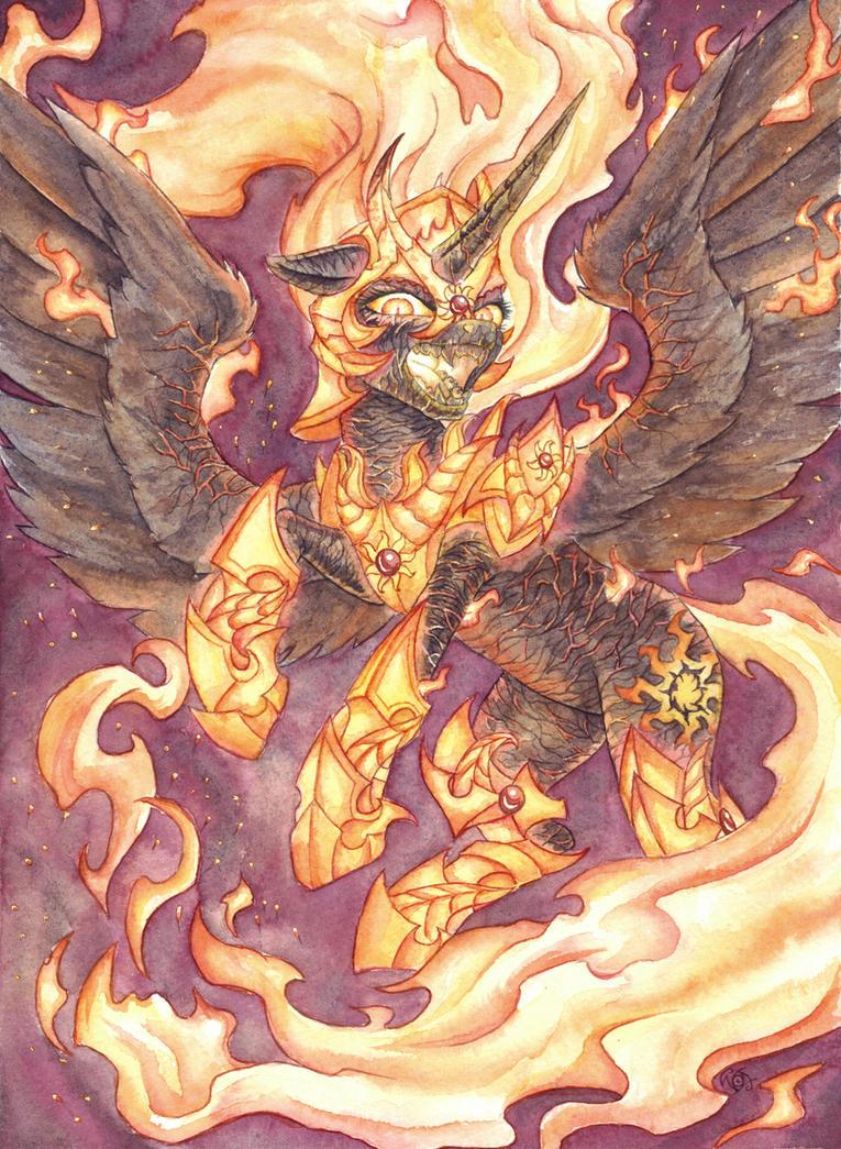 Burn, Sinners, Burn! by The-Wizard-of-Art