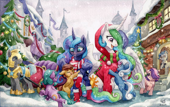 Christmas in Canterlot