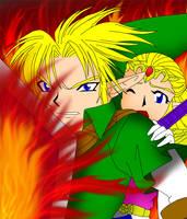 Defend Zelda by frozen--phoenix
