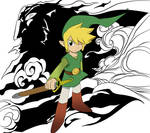 Wind Waker Link and Ganon