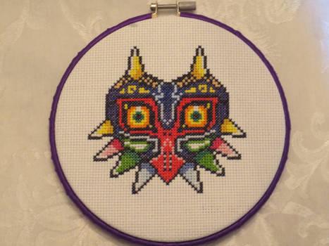 Cross Stitch - Majora's Mask