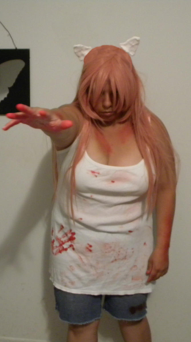 elfen lied   lucy cosplay by on dragon wings on deviantart