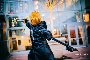 Number XIII Roxas by On-Dragon-Wings