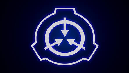 SCP Logo Blue by Vorbis by FundacjaSCPPolska