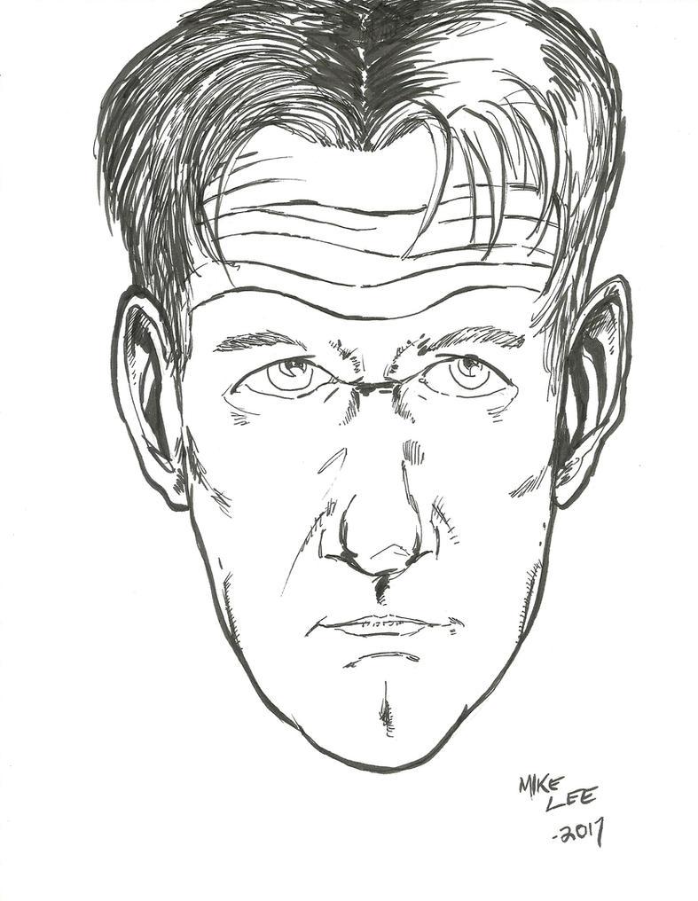 Gordon Ramsay caricature by gandalf0987