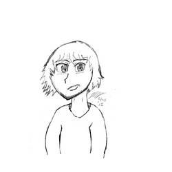 Self Portrait that Turned into Kain Mizuchi