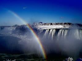 Niagara Falls Rainbow by Toby-Linn