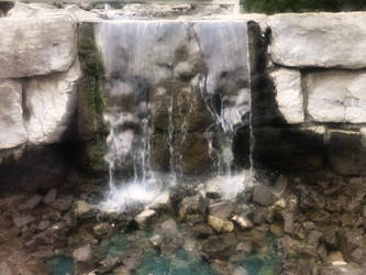 Miniature Golf Waterfall by Toby-Linn
