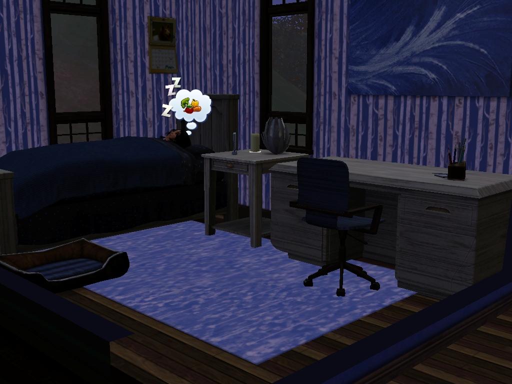Sim Bedroom By Riverturtle790 On Deviantart