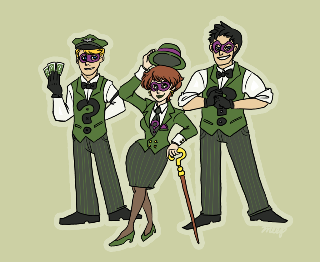 Riddle Me This by Clazziquai