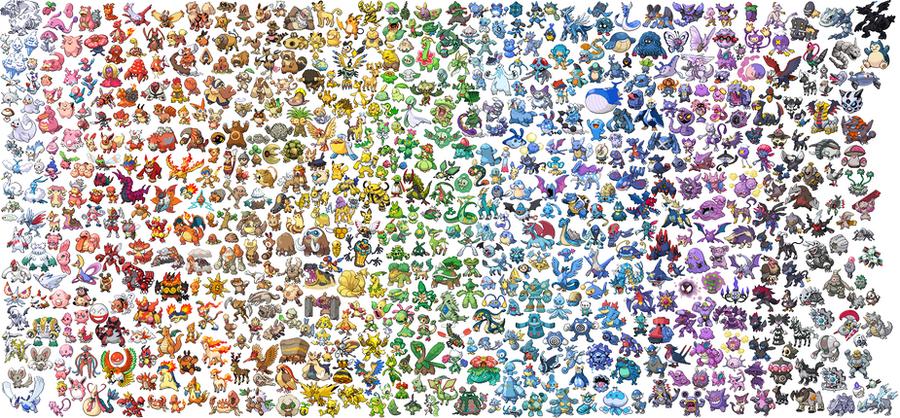 Pokemon Rainbow by Firehippo782