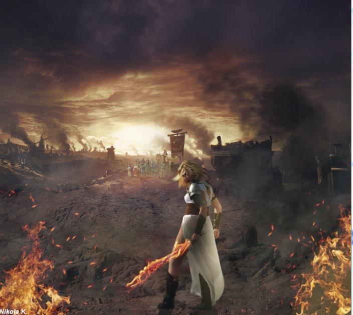 Lady warrior by Nikola096