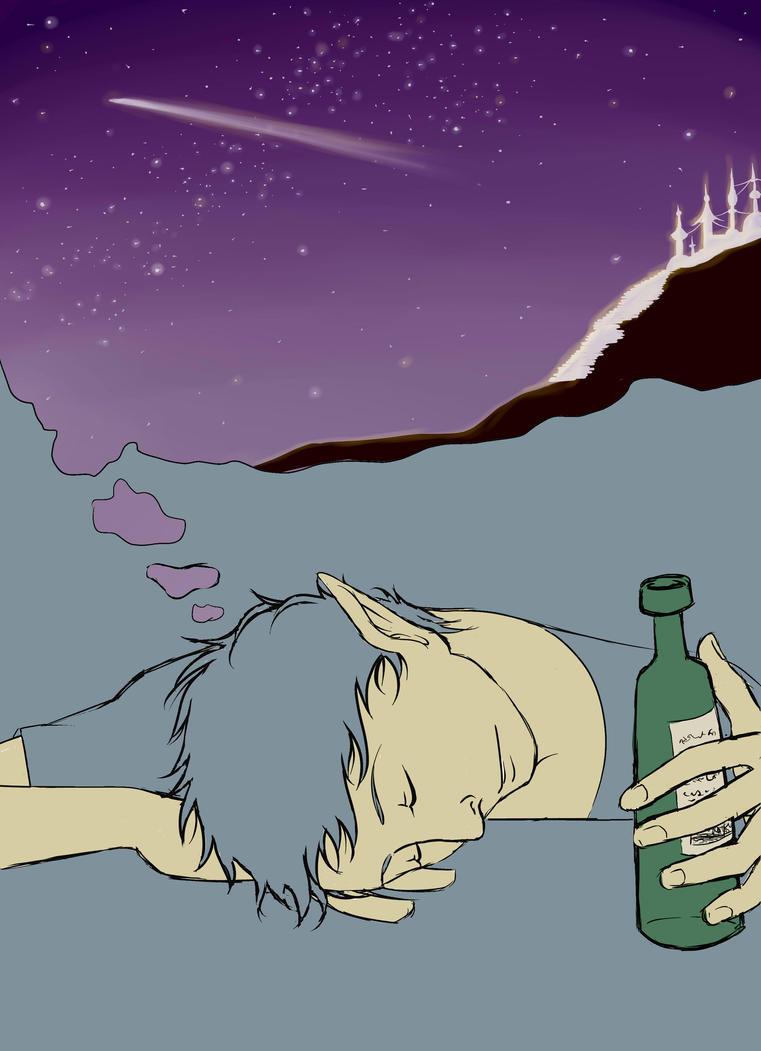 Le voyage de l'homme ivre by Mikage-san