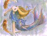 Of Mermaids and Koi
