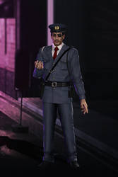 Yakuza Kiwami - Majima Goro - Police