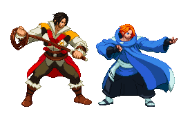 Trevor and Sypha by Countgate