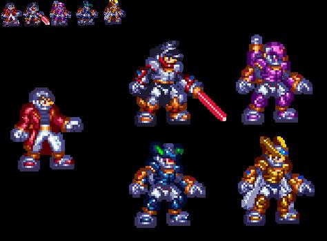 Megaman ZX sprite test