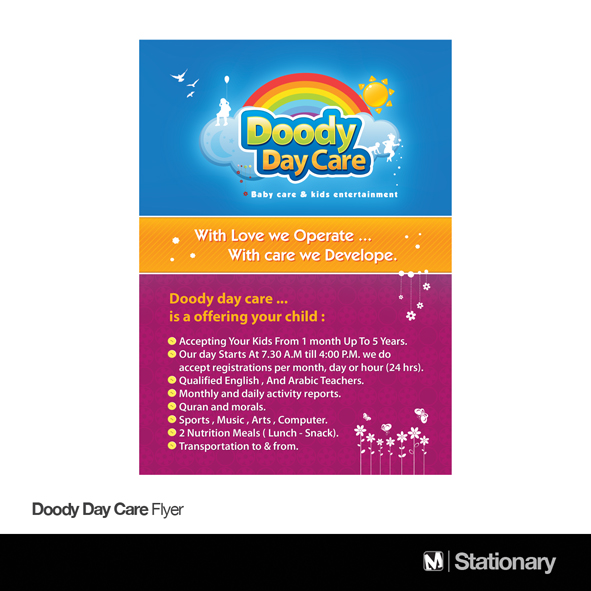Doody Day Care Flyer By M-Abdelhadi On Deviantart
