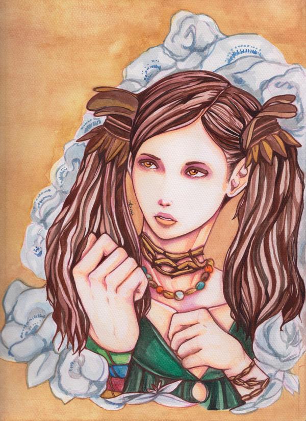 Dragon's Dogma: Selene by Artblockade