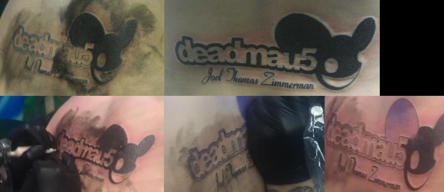 Deadmau5 tattoo sleeve