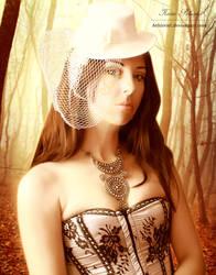 Forest bride by Aehireiel