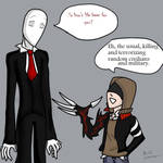 Slender meets Prototype by RoneOmbre