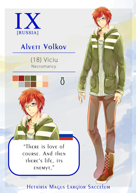 HMLS: Alvett Volkov by hirappon