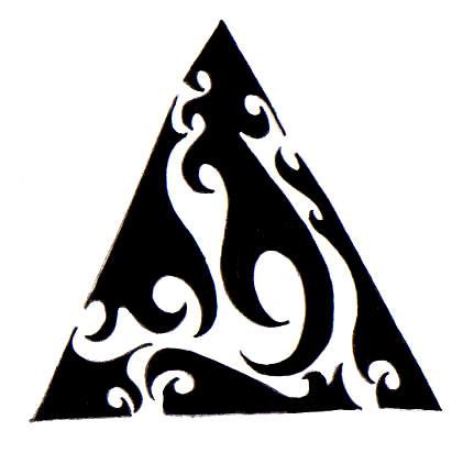 Tribal Triangle Tattoo By Isisfiredancer On Deviantart