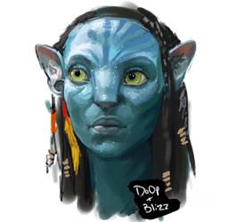Collab: Neytiri by Blizzard5291